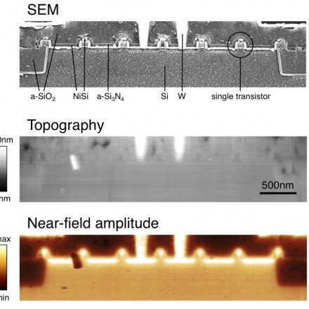 Identification of materials in semiconductor devices